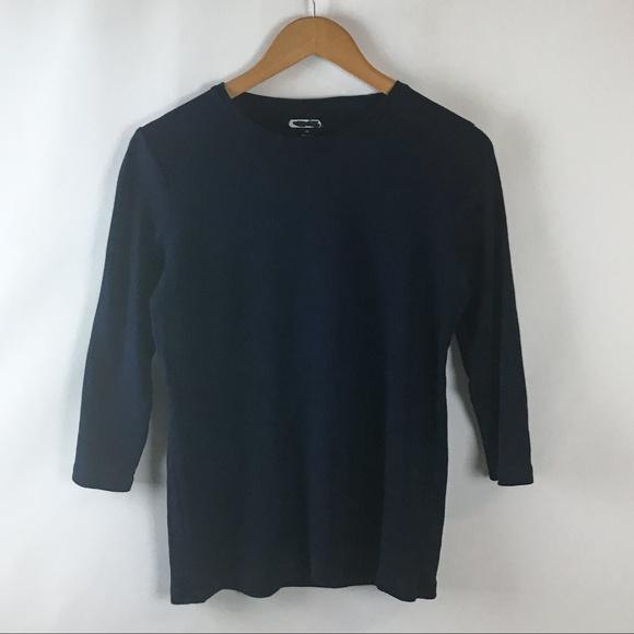 03bf5c491c45 Womens Long Sleeve Stretch Cotton T-Shirt